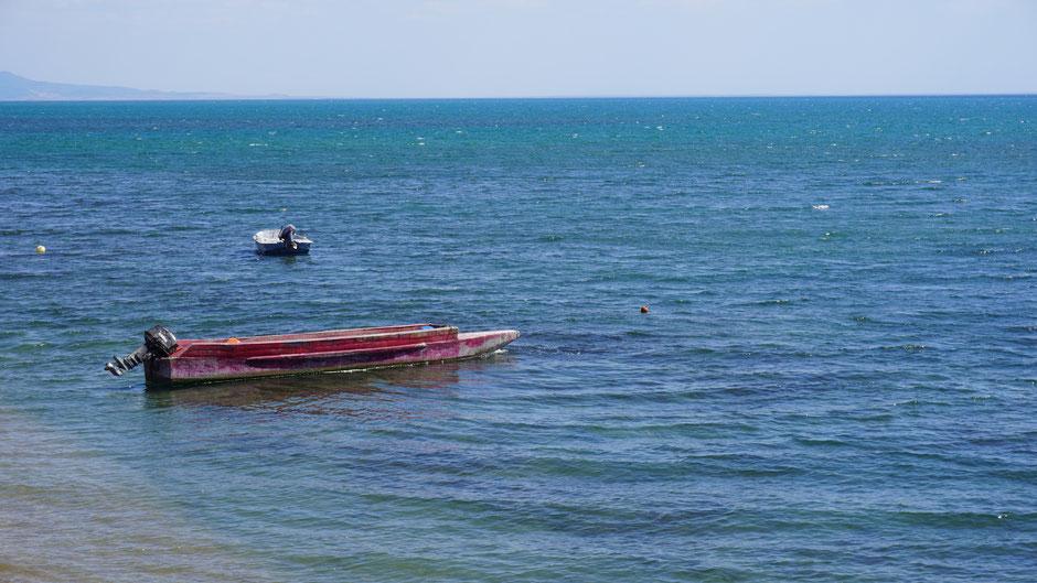 Das Meer bei Alexandroupolis ist schön anzuschauen, auch weil wieder ein Ziel erreicht