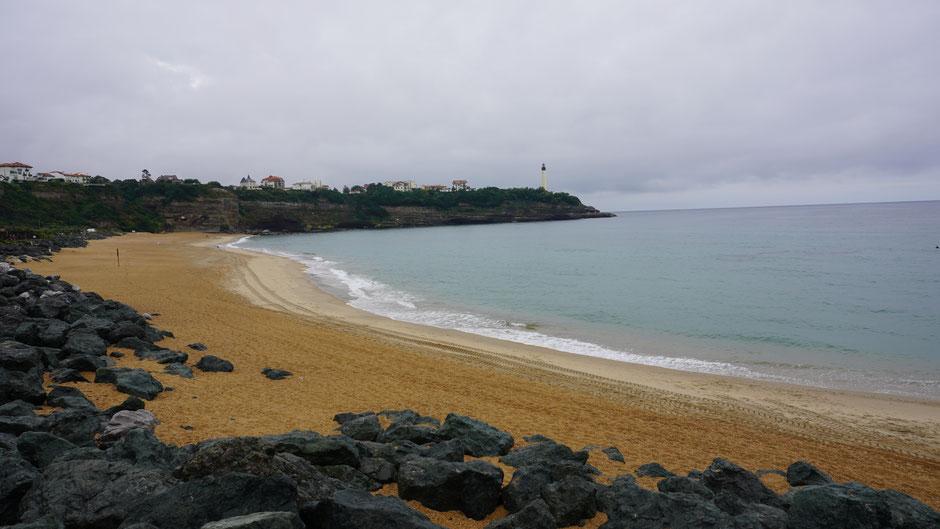 Küste vor Biarritz - Nieselregen und auch sonst schon ein bisschen anders