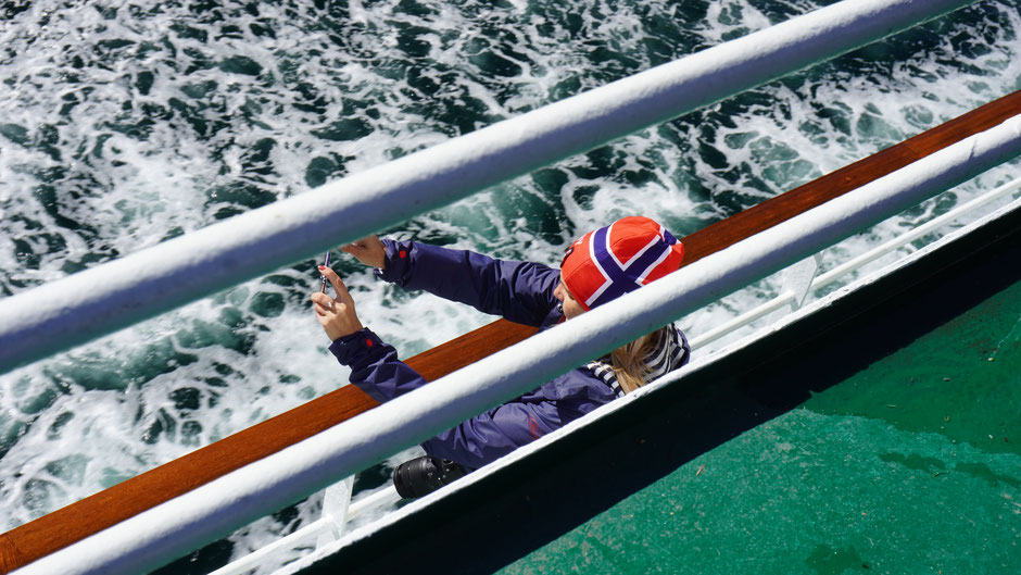 Norge - stilgerecht an Bord