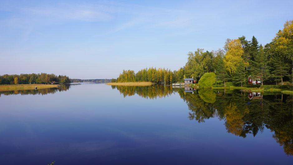 Ein schöner Flecken Erde am Wasser