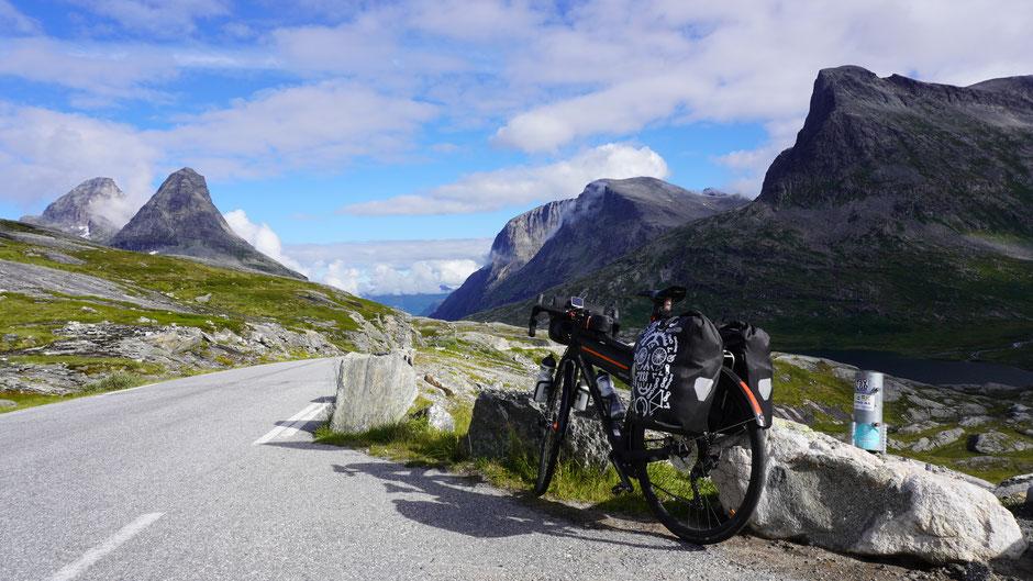 Passhöhe Trollstigen