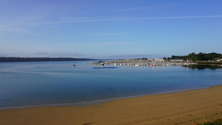 Genialer Morgen, ruhiges Meer ...
