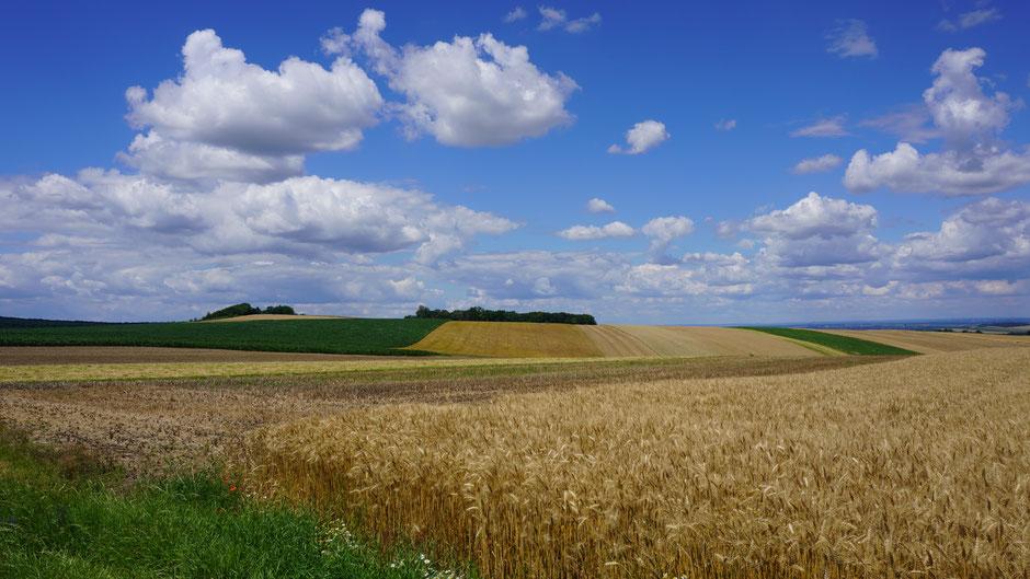 Landschaft und Farben vom Feinsten ...