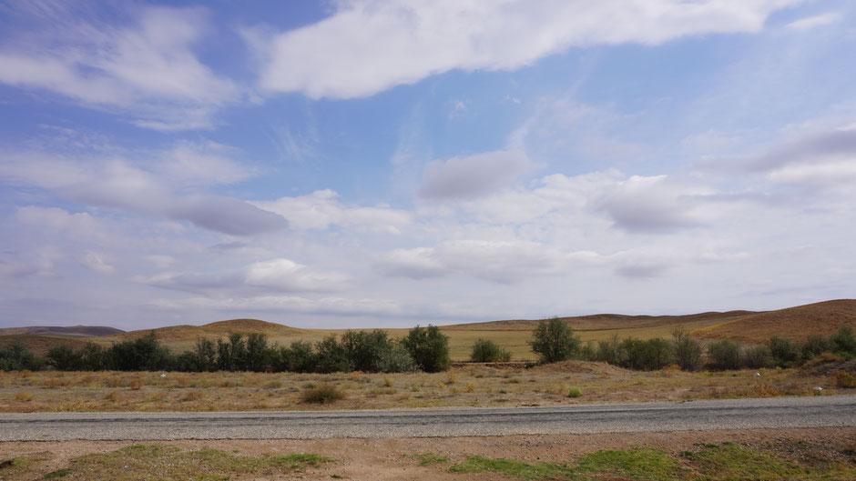 Wolkenspiel über Kappadokien