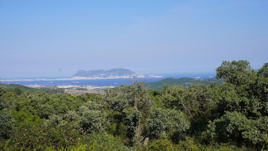 Ein erster Blick auf Gibraltar ...