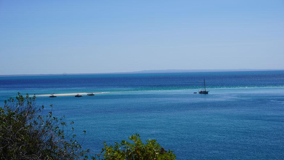Sonntagnachmittagsausflug mit Boot ...