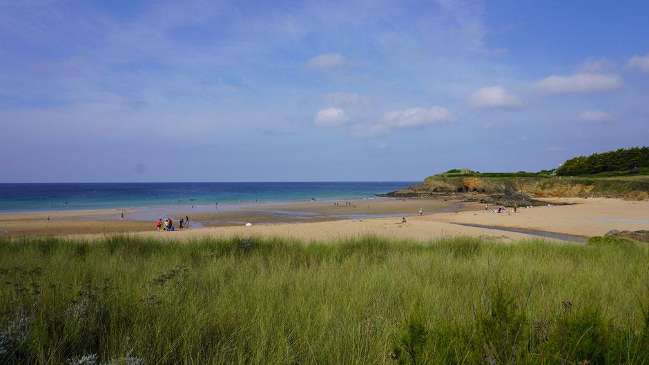 Am Strand - eine feine Bucht