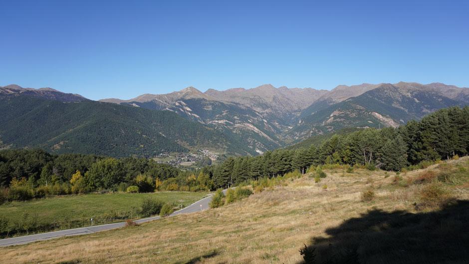 Im Aufstieg zum Collada de Beixalis