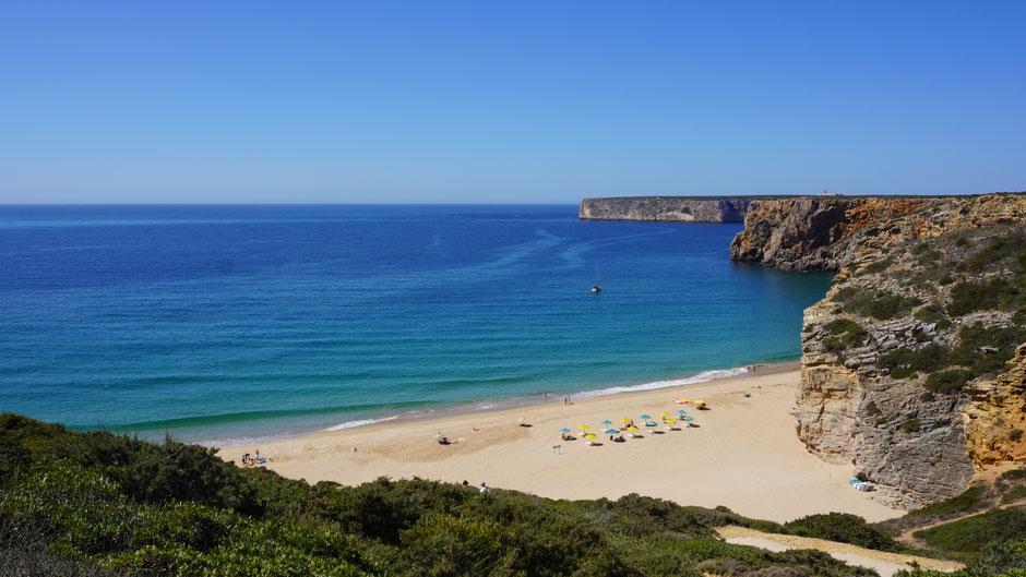 Am südwestlichsten Punkt der Algarve