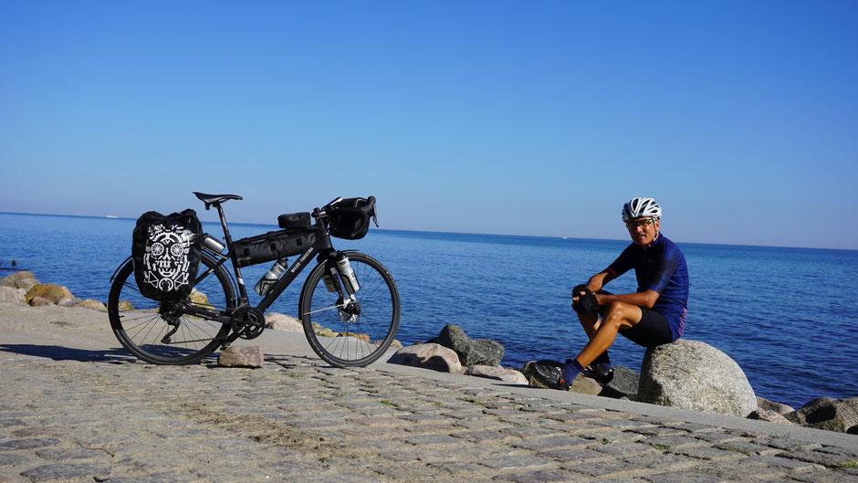 An der Ostsee mit Blick nach Süden