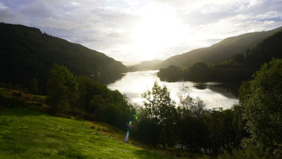 Schon schön, so ein Fjord ...