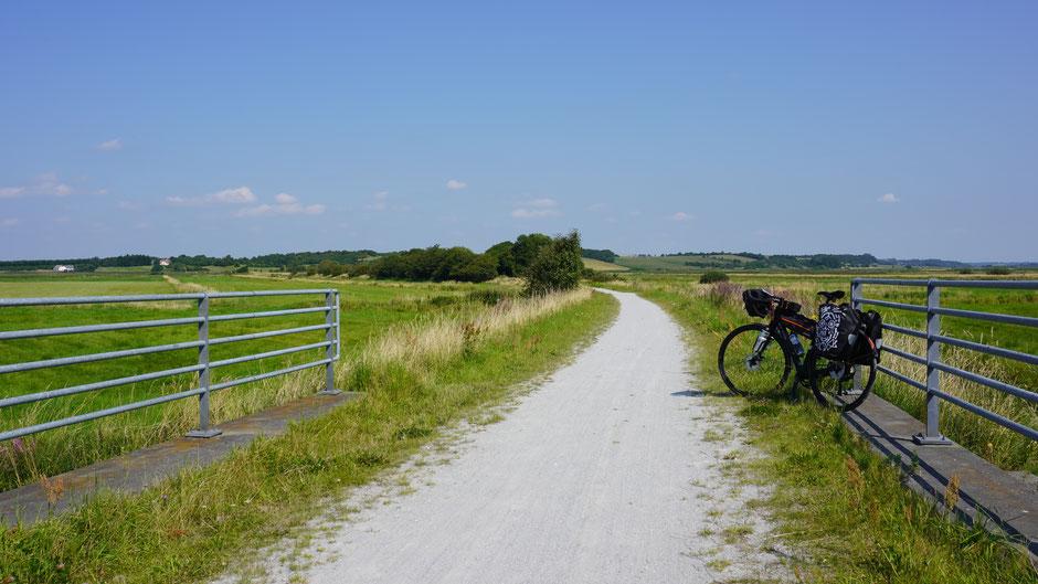 Himmerlandstien - 80 Kilomter Fahrradhighway als Naturstraße