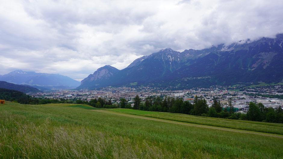 Innsbruck, mal aus etwas ungewohnter Perspektive