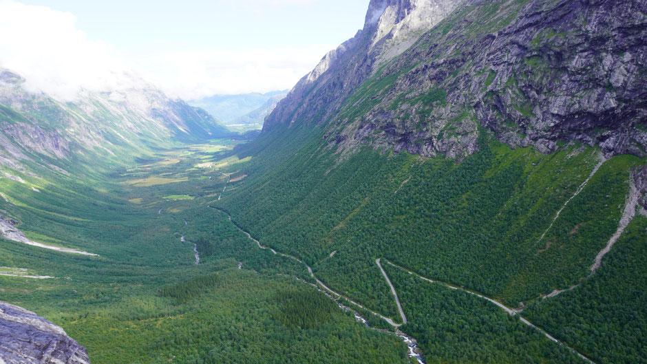 Talauswärts wartet schon der nächste Fjord