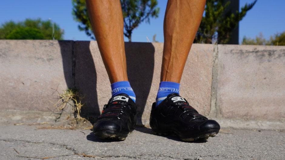 Die Socken frisch gewaschen, die Schuhe fein geputzt: bereit für die nächsten 4.000 Kilometer