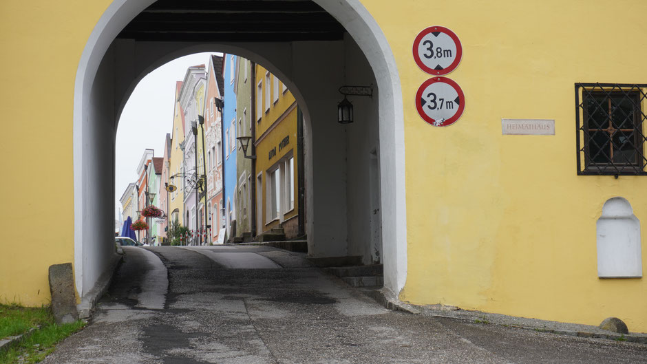 Obernberger Stadttor - Einladung zur Einfahrt
