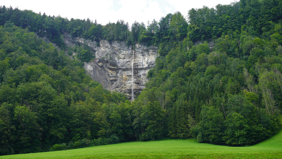Imposanter Wasserfall bei Mellau im Bregenzerwald