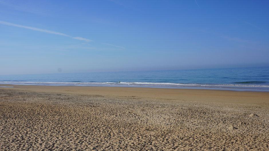 Ruhiger Morgen, ruhiges Meer ...