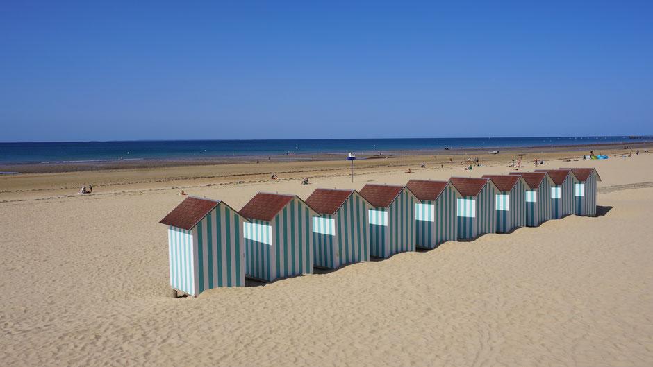 Strandhäuschen mit Sonnenfenster