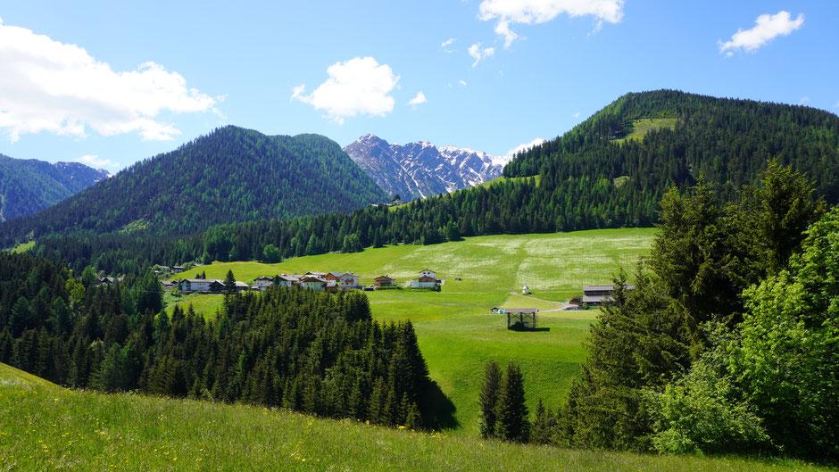 Grünes Lesachtal vor Karnischen Alpen