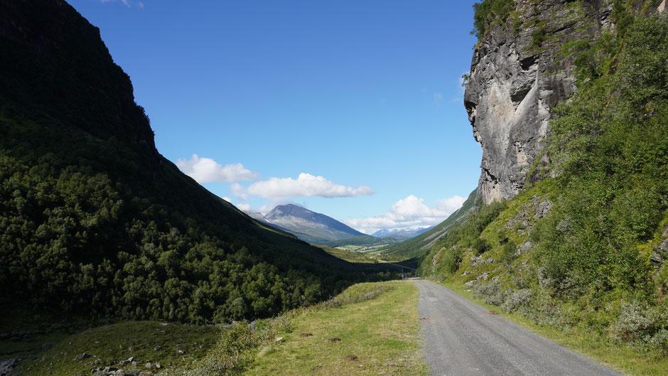 Übergang zum nächsten Fjord