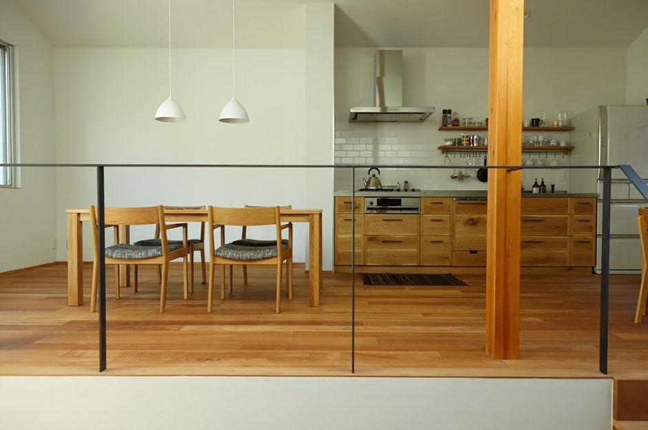 見せるキッチン 壁付けキッチン
