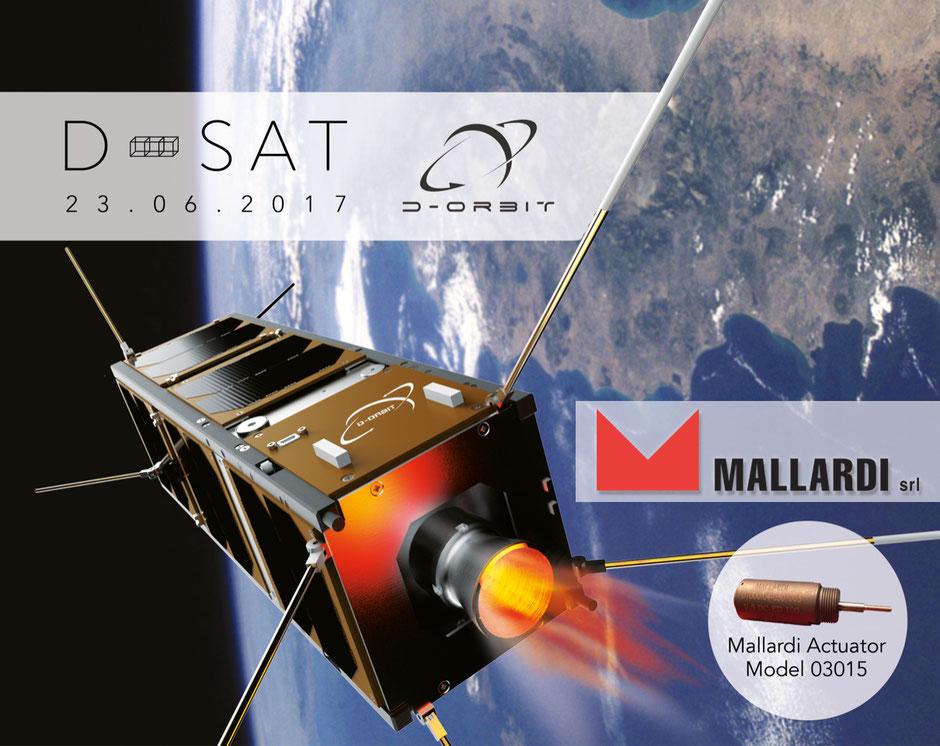 Elettromagnete Mallardi Actuator Model 03015 - Settore Aereo Spaziale