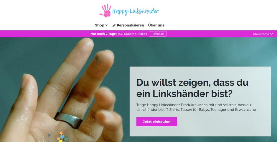LInkshänder Shop - witzige Artikel