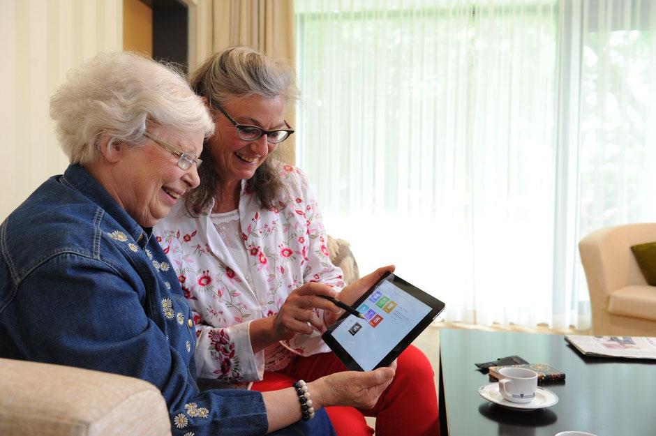 Soziale Interaktion ist ebenso wichtig, wie nutzerfreundliche Technik | Bild: GWHH
