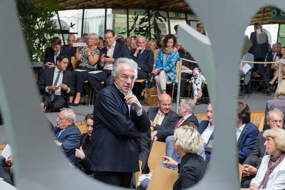 Feierlichkeit zum 60. Geburtstag von Prof. Werner Sobek im ILEK in Stuttgart | © Fotograf René Müller, Stuttgart