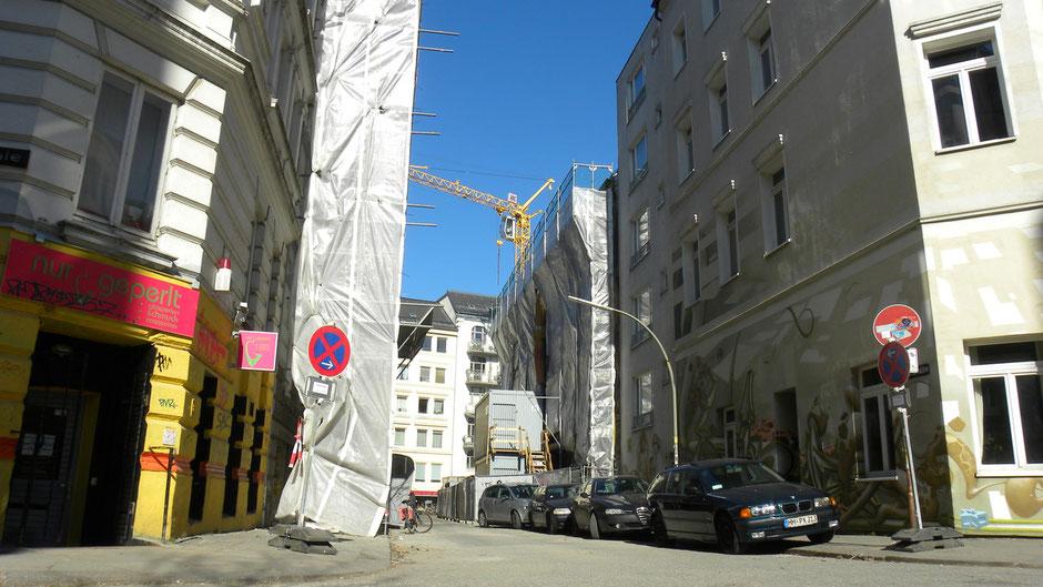 Gebäudesanierungsarbeiten gehören zum täglichen Strassenbild | © greenIMMO