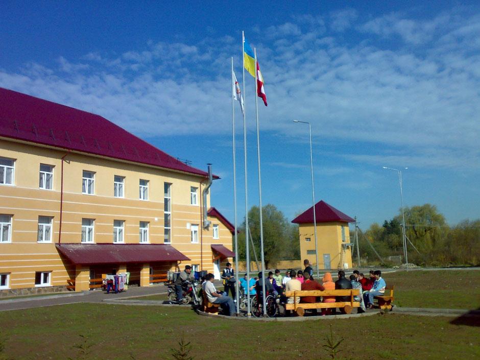 Das Wohnheim Parasolka wurde 2009 eröffnet