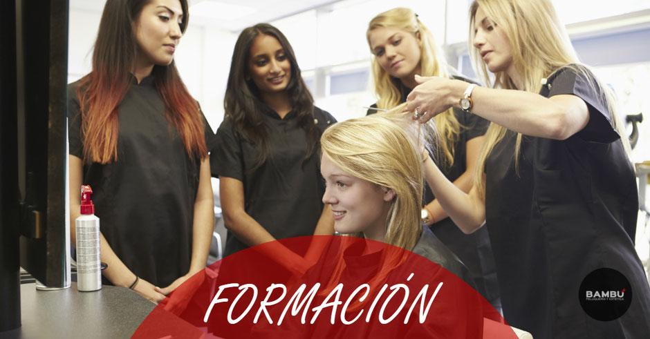 Formación en peluquería y estética en Tenerife norte - Bambú