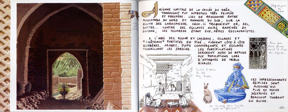 """Extrait de """"Carnet du Maroc""""."""