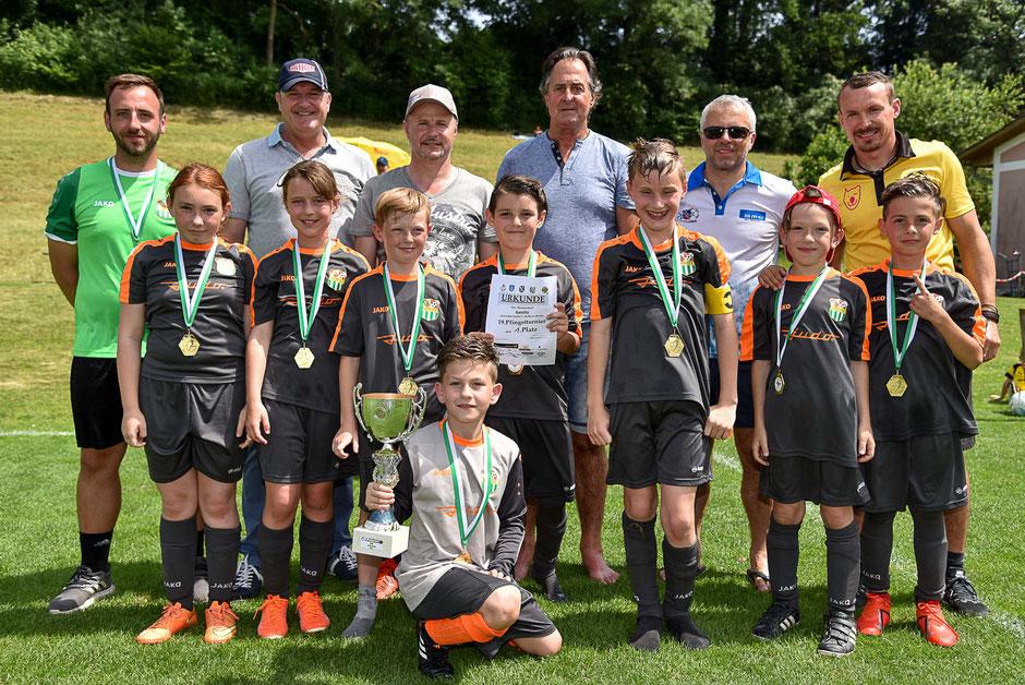 Der FC Gamlitz war der Sieger beim U10-Turnier