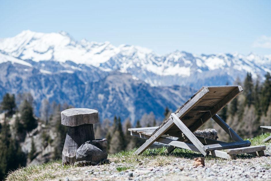 Wanderung für die ganze Familie - sogar mit Kinderwagen! Hirzer Höhenweg, Passeiertal - Südtirol