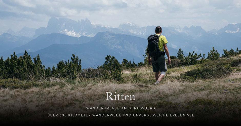 Wanderurlaub am Ritten - Südtirol -> die besten Tipps für Genusswanderungen, Hotels und Abenteuer
