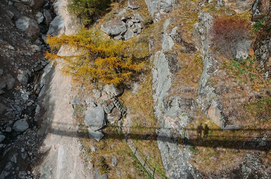 Hängebrücke am Meraner Höhenweg