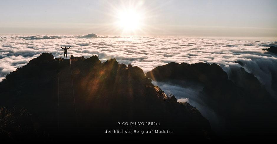 Lieblingsplätze auf MADEIRA: Wanderung auf den höchsten Gipfel der Insel: PICO RUIVO