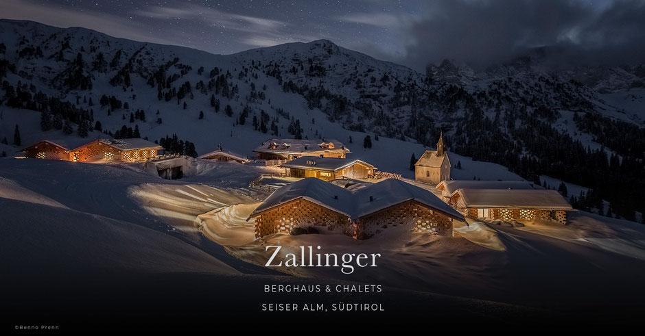 Zallinger, Berghaus, Chalet, Berghotel, Hütte, Seiser Alm, Südtirol - Italien, Wellnesshotel, Wanderhotel