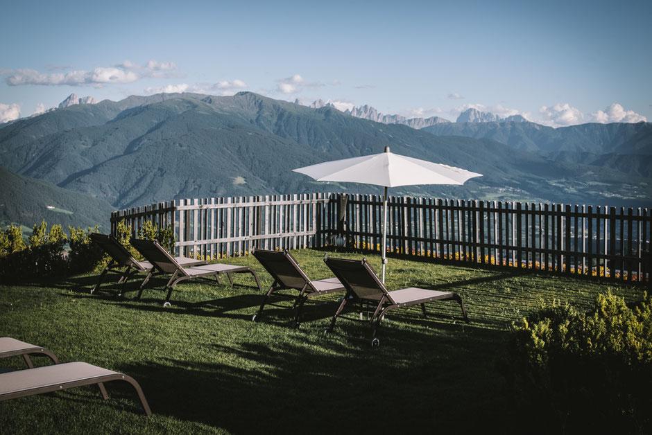 ratterhof - the Mountain Sky Hotel, Meransen/Südtirol - Wellnesshotel mit Dolomitenpanorama