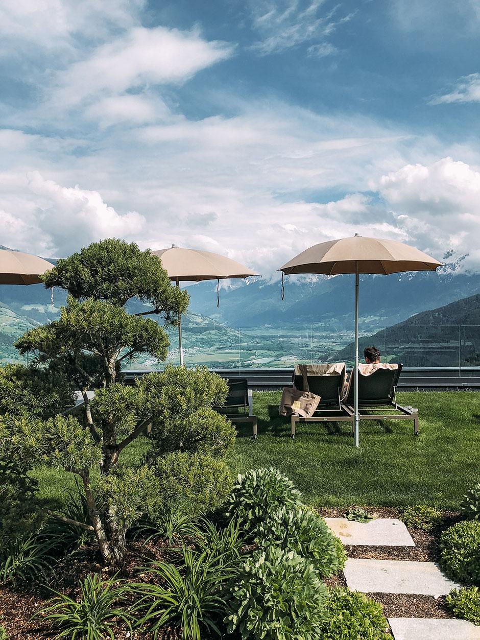 Sky Garden, Alpin und Relax Hotel DAS GERSTL (Vinschgau, Südtirol)