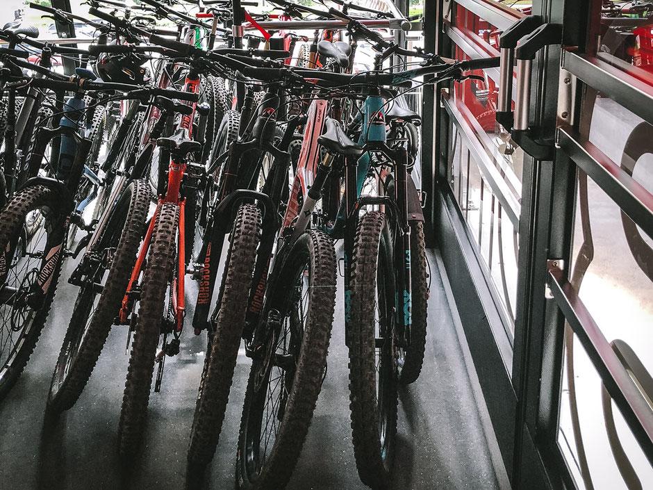 Jakobshornbahn Bike Transport DAVOS
