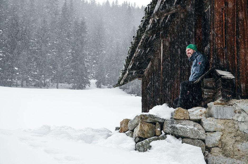 Winterwandern in der Region Gitschberg-Jochtal, Südtirol - Meransen (Pustertal)
