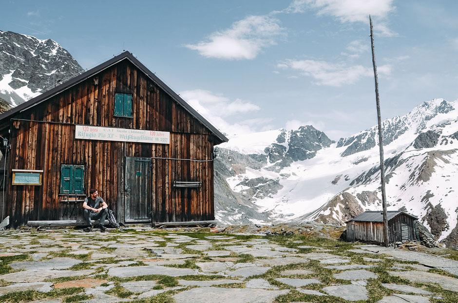 Weißkugelhütte, 2557m