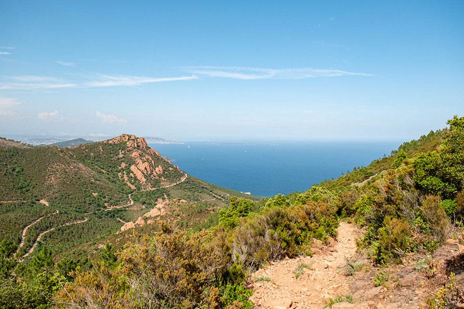 Massif de l'Esterel ©Côte d'Azur unlimited - Wanderurlaub, Wandern an der Côte d'Azur