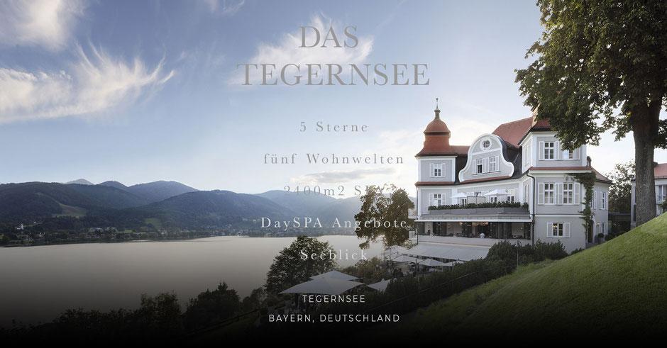 eines der schönsten Seehotels im Alpenvorland (Bayern,Deutschland)