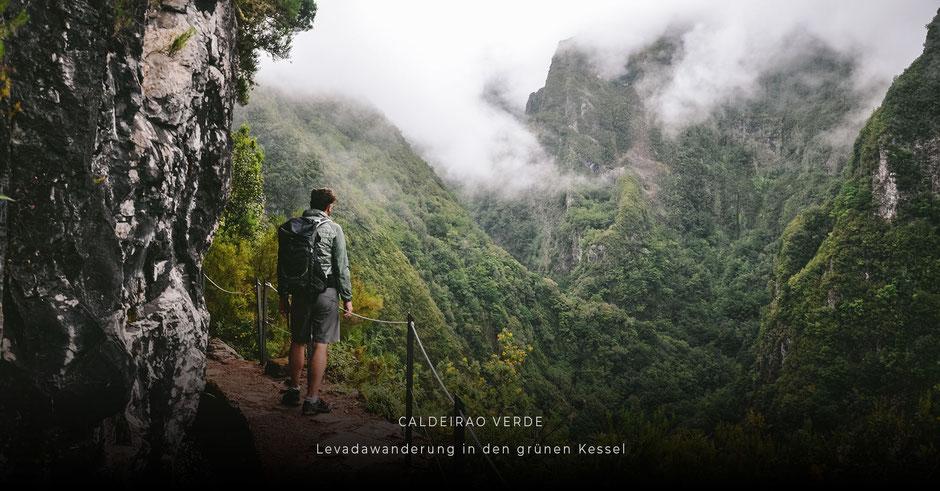Lieblingsplätze auf MADEIRA: Levadawanderung durch den grünen Kessel CALDEIRAO VERDE