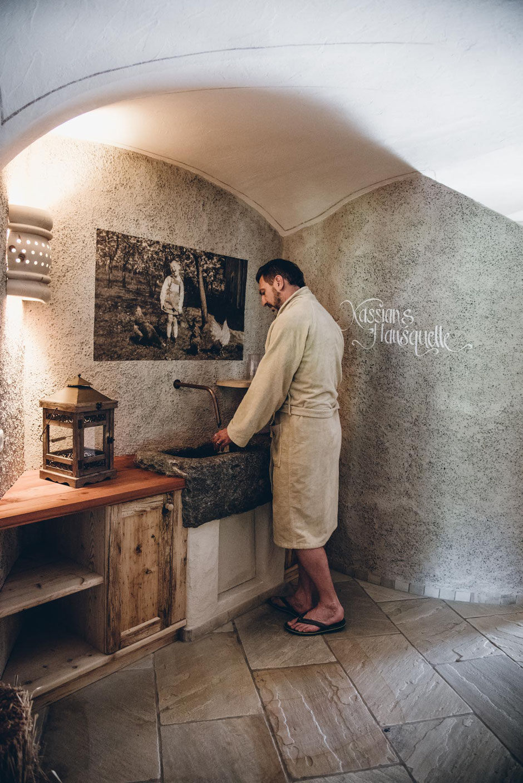 Wellnessbereich Naturhotel Kassian - Algund, Meran, Südtirol (Hausquelle)