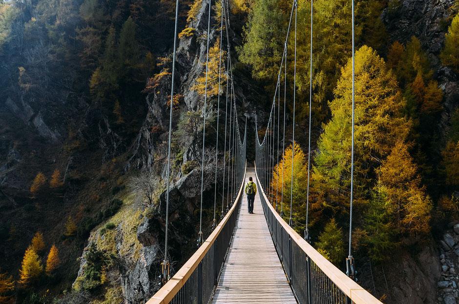 Hängebrücke 1000-Stufen-Schlucht